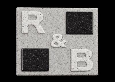 切り文字|人工大理石